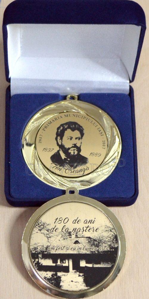 Medalie aniversara Ion Creanga