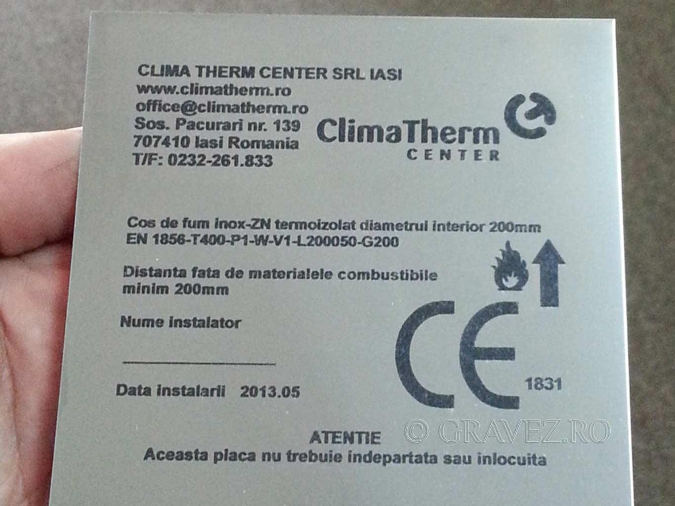 marcare-laser-placa-timbru-pe-alumark pentru industrial din metal