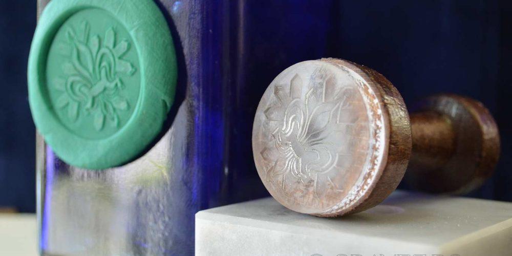 sigiliu din acril pentru plastilina