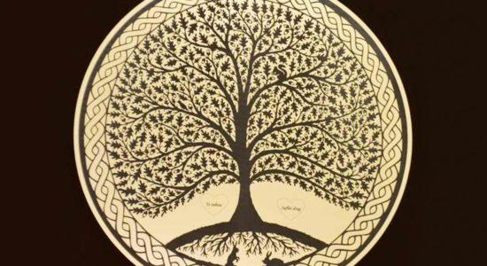copacul vietii decupat din metalex