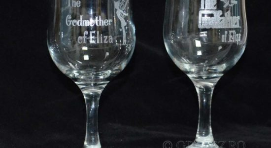 gravura-pahare-Godfather-Godmother-nasi pentru nunta din sticla
